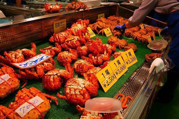Washo Fish Market Kushiro shore excursions