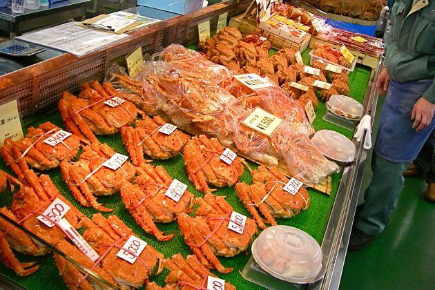 Washo fish market Kushiro