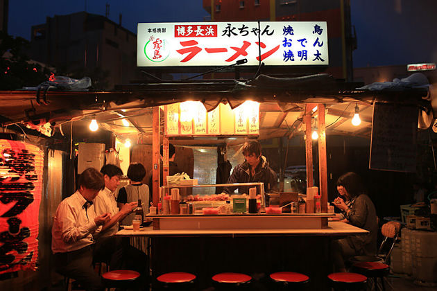 Yatai food stall Fukuoka shore excursions