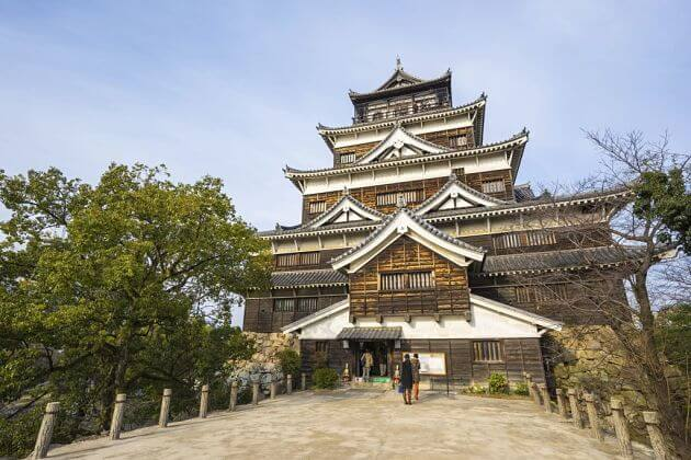 attractions in Hiroshima Castle
