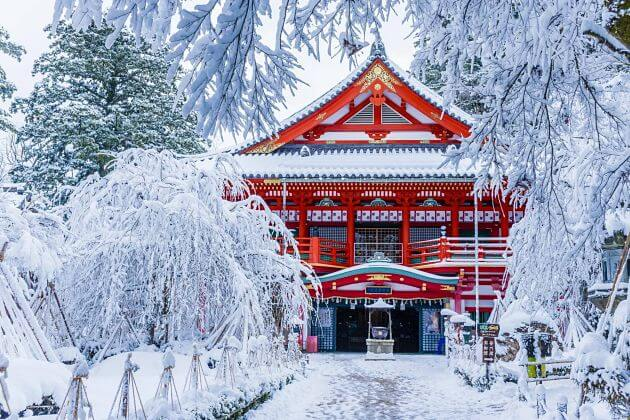 best time to visit Japan weather winter