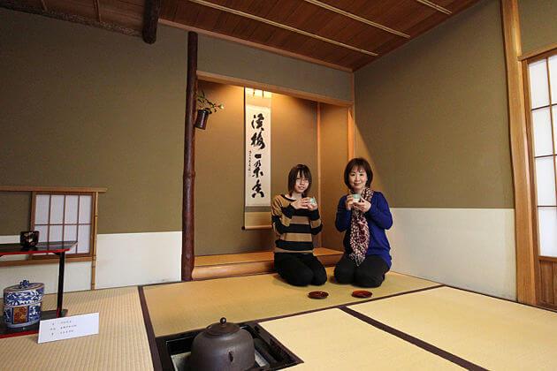 tea ceremony in Miyuki-tei